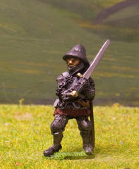 M6f Later Medieval: Dismounted Knight c.1360 in Kettle Helm