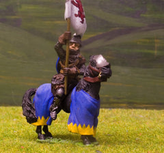 M7 Mounted Standard Bearer with Standard