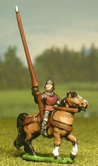 MER23 Late Medieval: Mounted Lesser Men At Arms / Curror (shieldless)