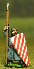 MER33 Late Medieval: Isleman / Galloglaich in Long Tunic with Kite Shield & Spear