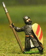 MER35 Late Medieval: Isleman / Galloglaich in Mail Coat with Kite Shield & spear