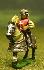 MER37 Early Renaissance: Command: Mounted General / Noble, Standard Bearer & Herald 1400-1500AD