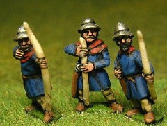 MID110 LaterSpanish: Archers in Kettle Helms