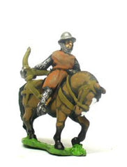 MID20 Mounted Crossbowmen in Kettle Helm & Mail Coat