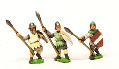 MID42 Medium Spearmen with Quilted Coat & Large Shield