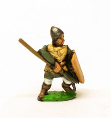 MID47 Heavy Spearmen with Large SHield, in Scale Corselet & Pointed Helm