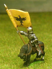 MID69a Three Mounted Standard Bearers