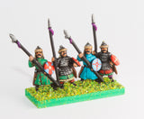 MOA7 Mongol: Dismounted Cavalry with lance, shield & bow