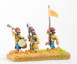 MOG16 Moghul Indian: Command: Officers, Standard Bearers & Drummers