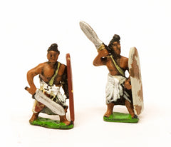 MPA43a Classical Indian: Swordsmen