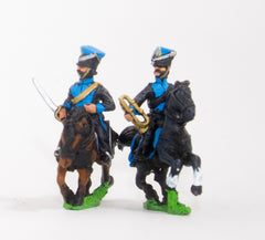 NBB7 Brunswick: Command: Lancer Officer & Trumpeter