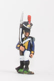 NPO2 Polish: Fusilier in Czapka  advancing with Musket upright