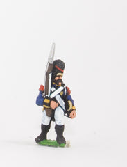 NPO5 Polish: Grenadier in Bearskin, advancing with Musket upright