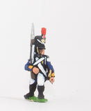 NPO8 Polish: Voltigeur or Gren in Czapka, advancing with Musket upright