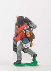 NS20 Character: British Infantryman carrying a casualty in Stovepipe Shako