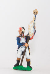 NS6 Character: Standard Bearer with head wound, holding standard