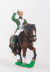 NS7 Character: Mounted Dragoon Officer, wiping brow (Horse included)