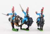 NSS20 Spanish Cavalry: Command: Hussar Officer, Standard Bearer and Drummer