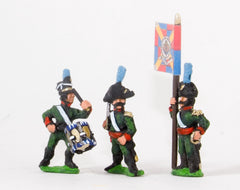 NSS26 Portuguese: Command: Militia Officers, Standard Bearers & Drummers