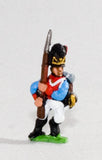 NV8 Bavarian 1805-14: Line Grenadiers or Jagers: Advancing with Musket upright