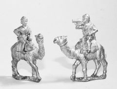 OC10 British: Command: 2 Camel Corps Officers, 1 Bugler