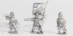 OC57 British: Command: Officers, Buglers & Standard Bearers