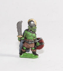 DD37 Orc: With Sword & Shield