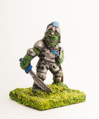 FAN46 Scaley Orc: with Sword and Dagger