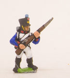 PN12 French: Line Fusilier advancing with Musket at 45 degrees