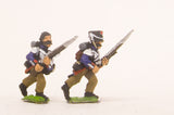 PN52 French: Middle Guard 1806-1814: Fusiliers Grenadiers, in Campaign dress, advancing