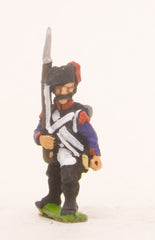 PN55 French: Line Infantry 1793-1806: Grenadier in Bicorne, advancing with Musket upright