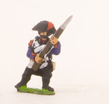 PN59 French: Line Infantry 1793-1806: Grenadier in Bicorne, advancing with Musket at 45 degreesFrench: Young Guard 1809-1815: