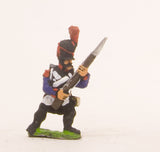 PN60 French: Line Infantry 1793-1806: Grenadier in Bicorne, advancing with Musket at 45 degrees