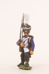 PN63 French: Line Infantry 1806-1812: in Shako, advancing with Musket upright