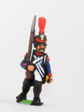 PN65 French: Line Infantry 1806-1812: Voltigeur in Shako, advancing with Musket upright