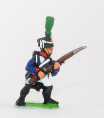 PN66 French: Line Infantry 1806-1812: in Shako, advancing with Musket at 45 degrees