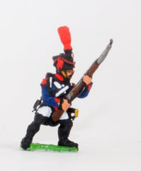 PN67 French: Line Infantry 1806-1812: Grenadier in Shako, advancing with Musket at 45 degrees