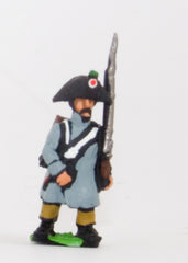 PN72 French: Line Infantry 1806-1812: in Greatcoat & Bicorne