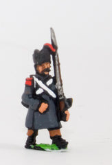 PN73 French: Line Infantry 1806-1812: Grenadier in Greatcoat & Bicorne