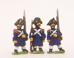 PN8 French: Old Guard or Chasseur: in Greatcoat & Chapeau, in assorted poses