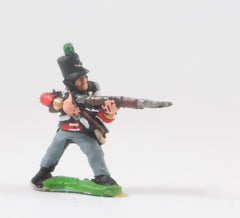 PNB14 British 1814-15: Light Infantryman firing