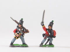 PNB16 British 1814-15: Command: Light Infantry Officers & buglers