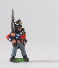PNB1a British 1814-15: Line Infantry with Musket upright