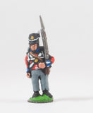 PNB1c British 1814-15: Line Infantry at attention