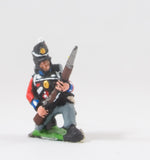 PNB1d British 1814-15: Line infantry kneeling / at the ready