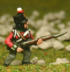 PNB25 British Infantry 1800-13: Line Infantry in Stovepipe Shako, advancing