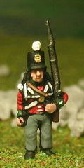 PNB25a British Infantry 1800-13: Line Infantry in Stovepipe Shako, at attention
