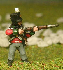 PNB25b British Infantry 1800-13: Line Infantry in Stovepipe Shako, firing
