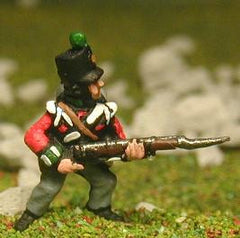 PNB26 British Infantry 1800-13: Grenadier or Light Coy, advancing