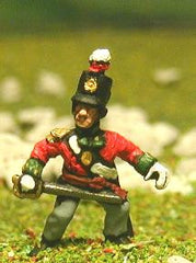 PNB27 British Infantry 1800-13: Command pack: Officer, Standard Bearer & Drummer